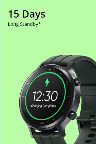 Realme Watch S Batter life